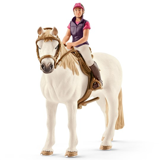 Schleich Recreational Rider with Horse Unisex
