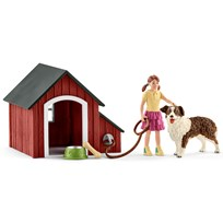 Schleich Dog Kennel Unisex