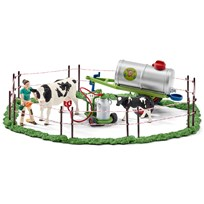Schleich Cow Family on the Pasture Unisex
