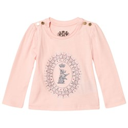 Juicy Couture Glitter Scotty Logo Tröja Ljusrosa