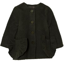 Wolf & Rita Coat Adriana Green Black
