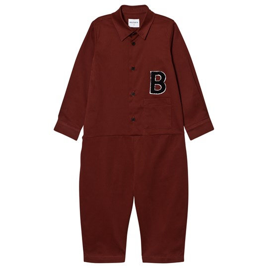 Wolf & Rita Miguel Jumpsuit Bordeaux Red