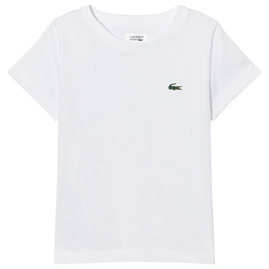 Lacoste Branded Ultradry Tee White 001