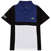 Lacoste Navy and Blue Superlight Polo RL7