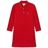 Lacoste Red Pique Polo Dress DPE