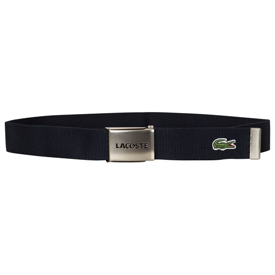 Lacoste Navy Perforated Belt 166