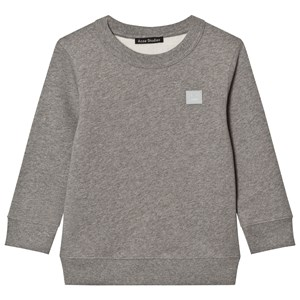 Image of Acne Studios Mini Fairview Face Sweatshirt Gray 3-4 år (779707)