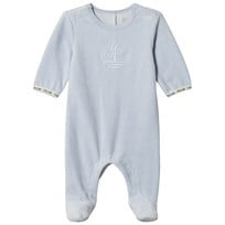 Timberland Pale Blue Footed Baby Body 771