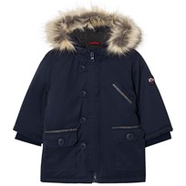 Absorba Navy Padded Hooded Coat 04