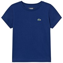 Lacoste Branded Ultradry Tee Dark Royal S2P