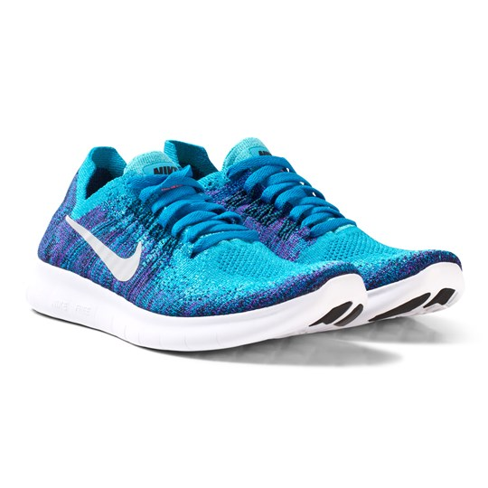NIKE - Flyknit 2017 Free Run Junior Trainer Purple Aqua - Babyshop.com e58e261bd