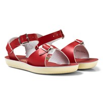 Salt-Water Sandals Surfer Sandals Red Red