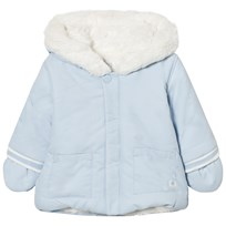 Absorba Pale Blue Lined Hooded Jacket 41