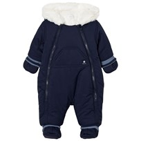 Absorba Navy Fleece Lined Snowsuit 49