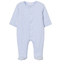 Absorba Pale Blue Star Padded Babygrow 41