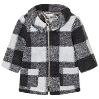 Absorba Grey Check Coat 29