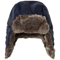 Timberland Navy Faux Fur Chapka 85T