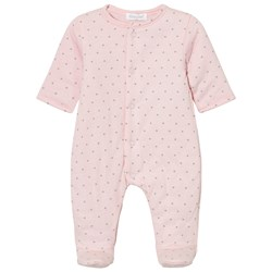 Absorba Padded Footed Baby Body Pink