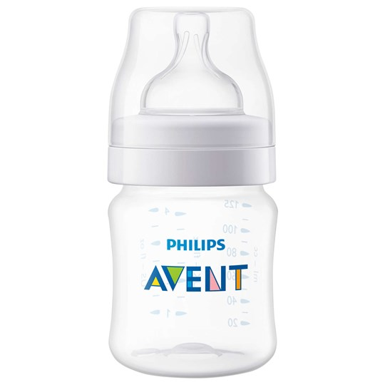 Philips Avent Classic+ Baby Bottle 125 ml (4 oz) Beige
