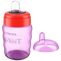 Philips Avent Spout Cup 260 ml (9 oz) Purple Beige