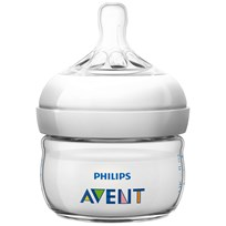 Philips Avent Feeding Bottle. 60ml 0m+ first NATURAL Beige