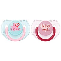 Philips Avent 2-Pack Modenappar 6-18M Rosa Pink