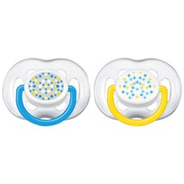 Philips Avent 2-Pack Freeflow Nappar 6-18M Blå Blue