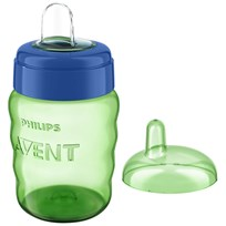 Philips Avent Spout Cup 260 ml (9 oz) Green бежевый