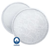 Philips Avent Washable Breast Pads with Laundry Bag - 6 Pack Beige