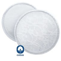 Philips Avent Washable Breast Pads with Laundry Bag - 6 Pack бежевый