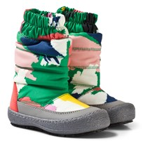 Stella McCartney Kids Multi Camo Mai Ski Boots 2865