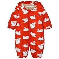 Stella McCartney Kids Red Helmet Print Cymbals Pramsuit 6565