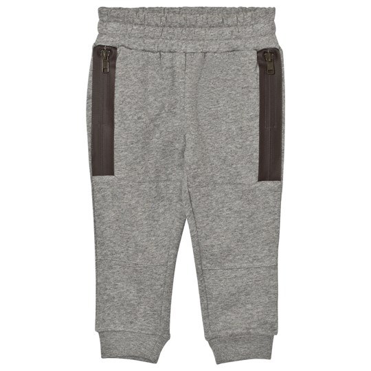 Stella McCartney Kids Grey Zip Detail Spike Sweat Pants 1464
