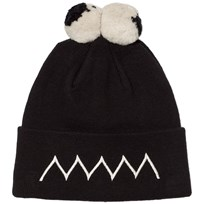 Stella McCartney Kids Eyes Tweedle Pom Pom Mössa Svart 1073