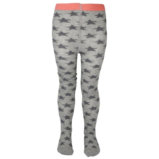 Molo Star Tights Grey Melange  Grey