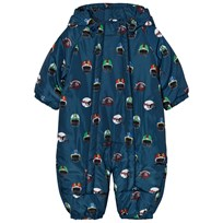 Stella McCartney Kids Navy Helmet Print Cymbals Pramsuit 4460