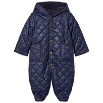 Ralph Lauren Navy Quilted Coverall 001