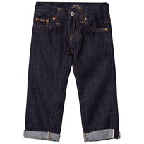 Ralph Lauren Dark Wash Conrad Skinny Fit Denim Jeans 001