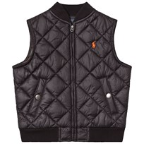 Ralph Lauren Black Quilted Gilet 002