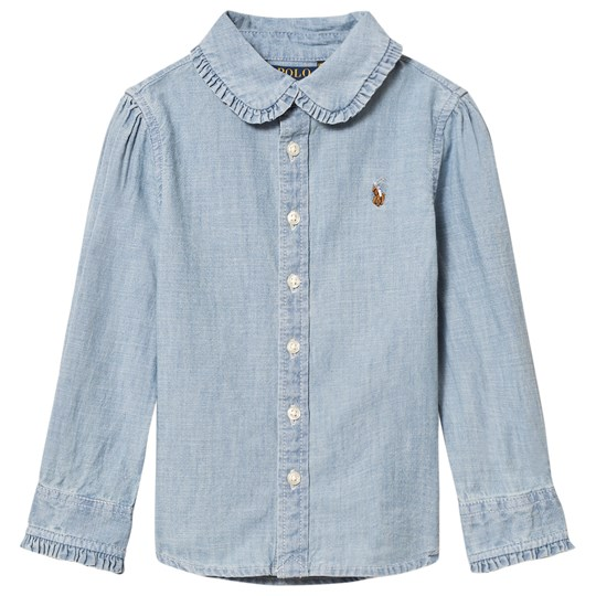Ralph Lauren Blue Chambray Shirt 001