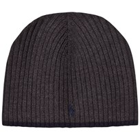 Ralph Lauren Dark Grey Beanie 002