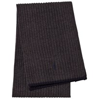 Ralph Lauren Dark Grey Scarf 002