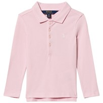 Ralph Lauren Pink Long Sleeve Polo with Small PP 008