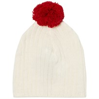 The Animals Observatory Pony Baby Knit Beanie Raw White Raw White