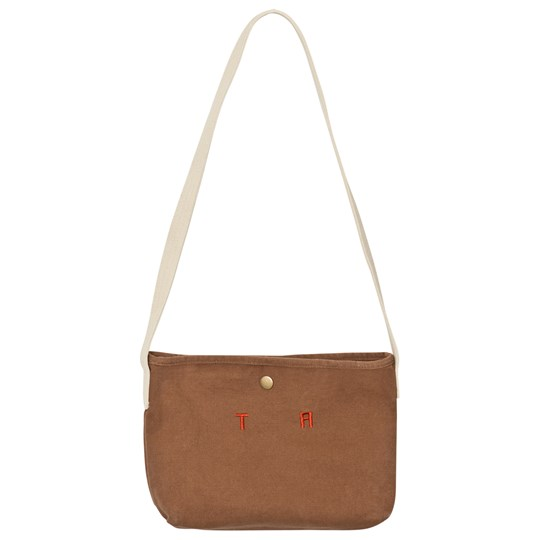 The Animals Observatory Canvas Bag Deep Brown Tao Initials Deep Brown Tao Initials