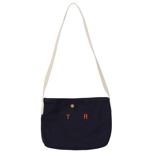 The Animals Observatory Canvas Bag Deep Blue Tao Initials Deep Blue Tao Initials