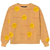 The Animals Observatory Bear Sweatshirt Yellow Faces Yellow Yellow Faces