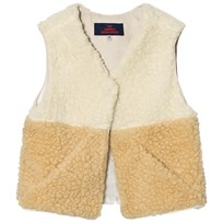 The Animals Observatory Lamb Vest Raw White Raw White