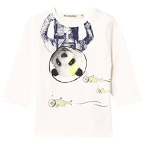 Billybandit White Space Panda Print Tee 105