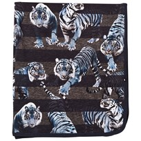 Molo Niles Blanket Blue Tigers Blue Tigers